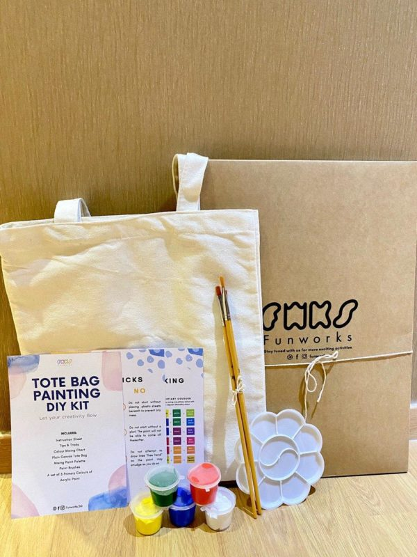 DIY Tote Bag Painting (standard set)