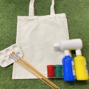 Tote bag painting diy kit premium set